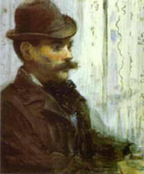 man in a round hat alphonse maureau 1878 XX art institute of chicago chicago il usa